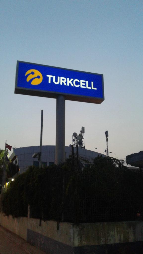 turkcell totem adana revo reklam tuzla