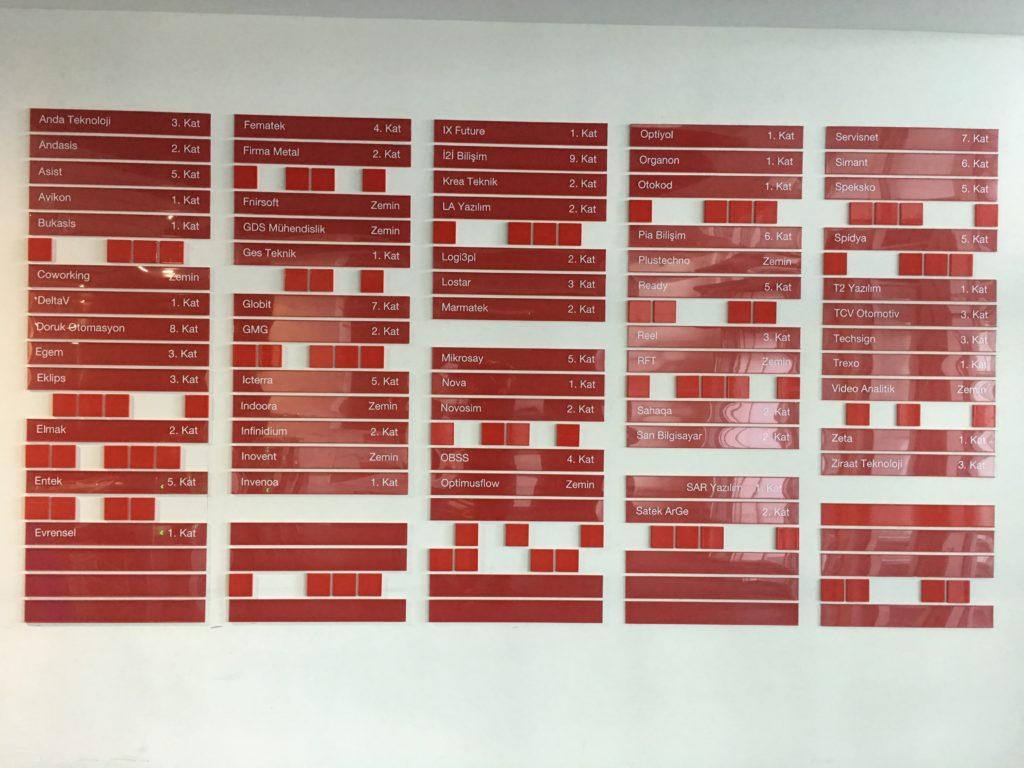 teknopark kurtköy kat yönlendirme tabelası revo reklam tuzla