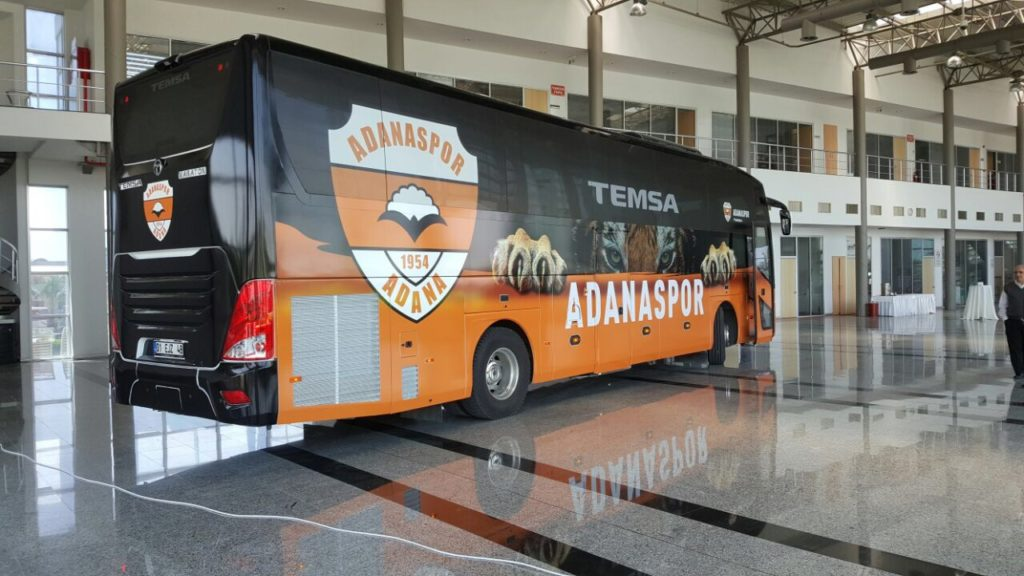 otobüs giydirme adanaspor revo reklam tuzla